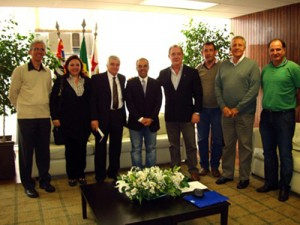 051-2011  Presidente da CMSP recebe Diretoria e Comissão Salarial da SEAM