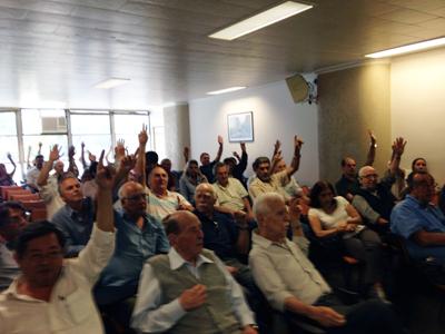 078 2015 – Encontro dos engenheiros e arquitetos (29/09/2015) e Reunião com o Secretário da Gestão