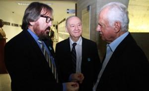 Senador Pedro Simon (PMDB-RS), Eng Pedro Lopes (Confea) e o Eng JRSenno (Presidente da ANSEAF)