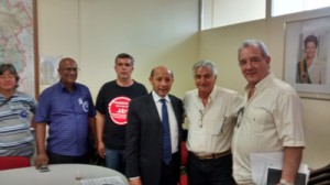 088 2014 – Líder do PT Vereador Alfredinho, recebe as Entidades para apresentar Emenda ao PL 312/2014
