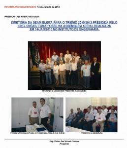 001-2010  Posse da Diretoria 2010/2012