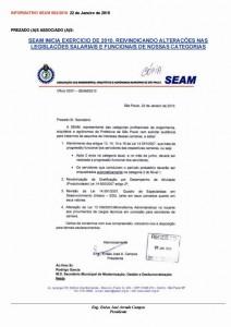 002-2010  Reivindicações: Alterações na legislação das categrias
