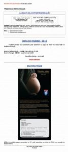 008-2010  Almoço; Copa do Mundo; Dia das Mães