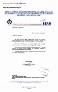 014-2010  Pedido Decreto Evolução Funcional ao Secretário de Gestão