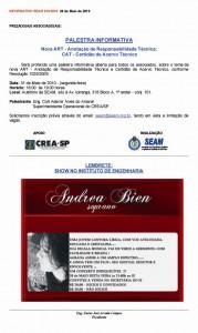 016-2010  Palestra Informativa: A Nova ART