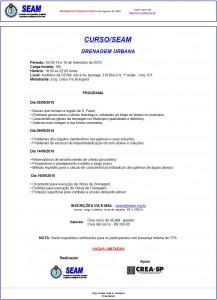 021-2010  Curso SEAM- Drenagem Urbana