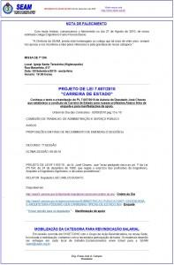 023-2010  Faleceu o Eng Fábio Pereira Bueno. PL 7.607/2010: Carreira de Estado