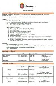 016 2014 – Audiências Públicas do Plano Diretor e Ato Publico dia 04/04/2014