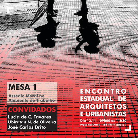 087 2015 – Encontro Estadual de Arquitetos e Urbanistas