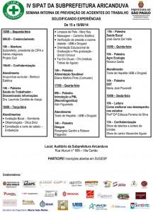 060 2014 – IV SIPAT da Subprefeitura Aricanduva