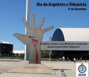 092 2014 – 15 de Dezembro Dia do Arquiteto e Urbanista