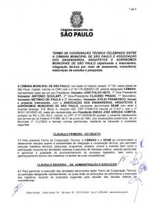 033-2011  SEAM e Câmara Municipal de São Paulo firmam Termo de Cooperação Técnica